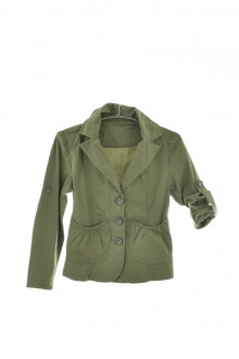 Girl's jacket front