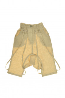 Trousers for girl front